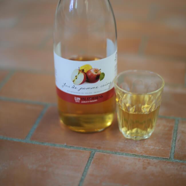 Wuitte-Apfelsaft aus dem allis