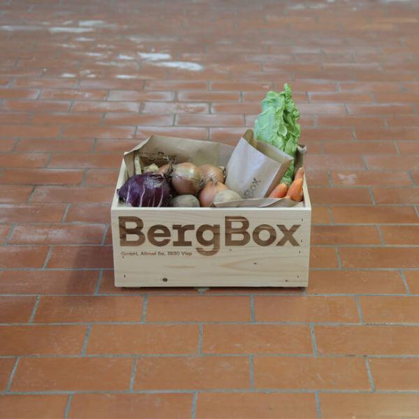 BergBox-Gemüse aus dem Wallis