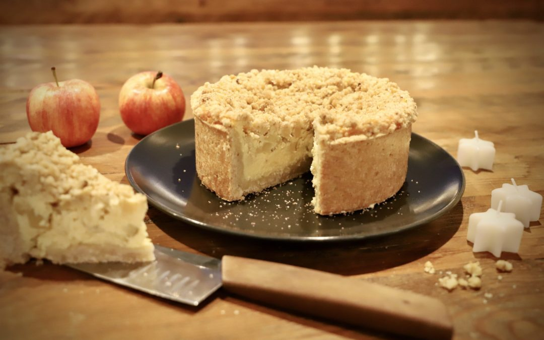 Apfel-Quarkkuchen (Käsekuchen)