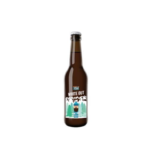 White Out Craft Beer von 7 Peaks