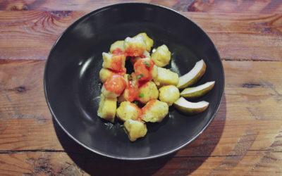 Birnen-Kartoffel-Gnocchi